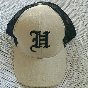 Hemp trucker hat
